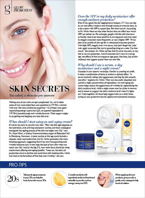 Nivea: Skin Secrets