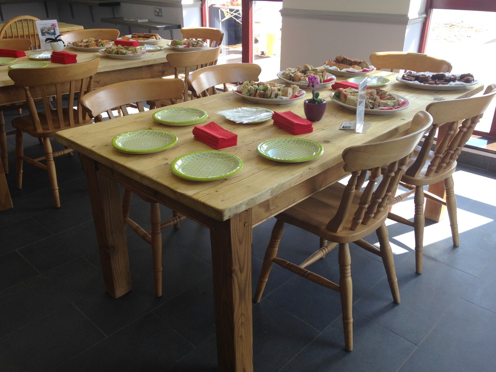 6 x 3 pine tables made to measure