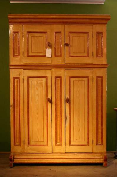Staphorst antique storage cupboard