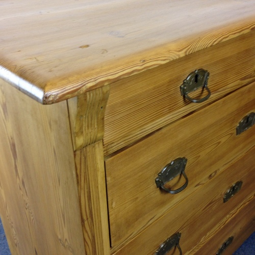 chest of drawers after being waxed