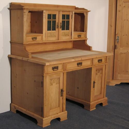 old office desk. Large Antique Pine Office Desk (f6801d) Old Office Desk