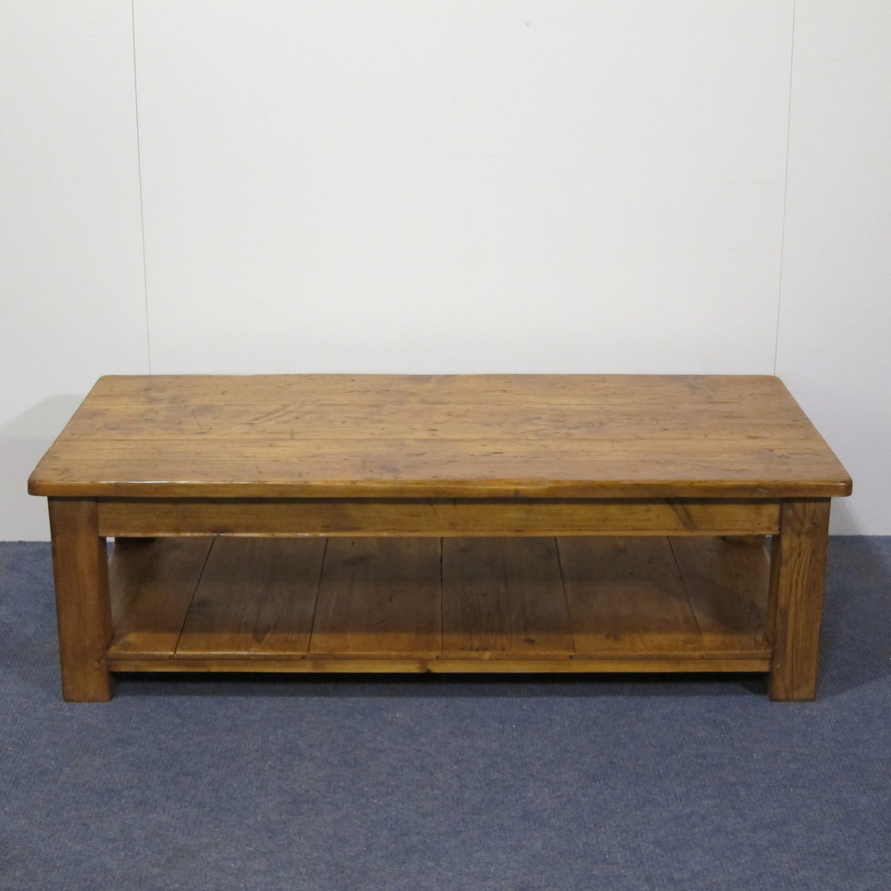 Bespoke pine coffee table