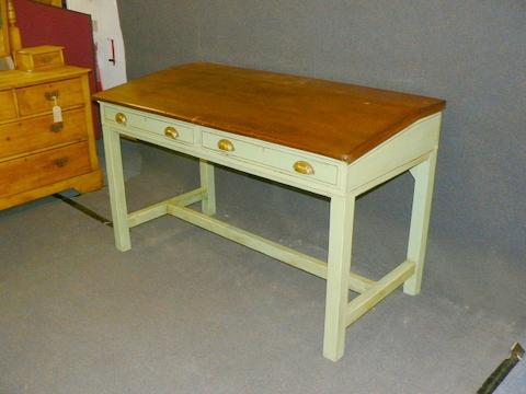 P1100384-001.JPG - Antique Pine Desks — Pinefinders Old Pine Furniture Warehouse