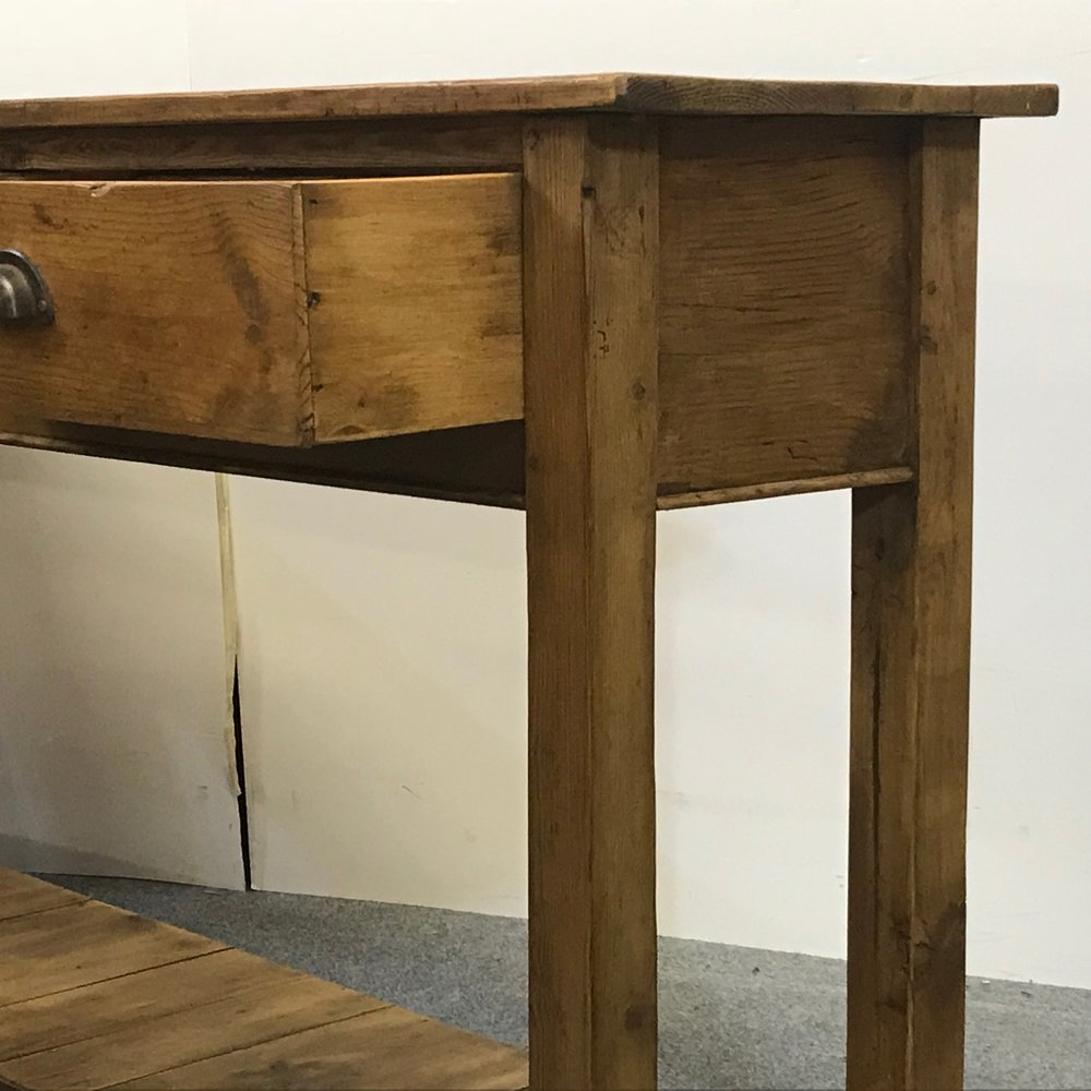 Old pine used for legs also