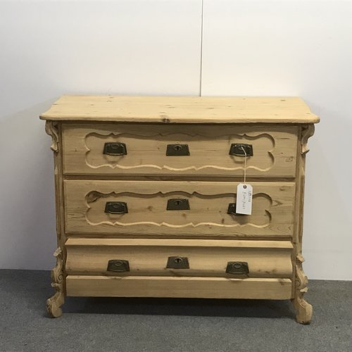 German Antique Pine Chest Of Drawers A5507b Pinefinders Old Pine