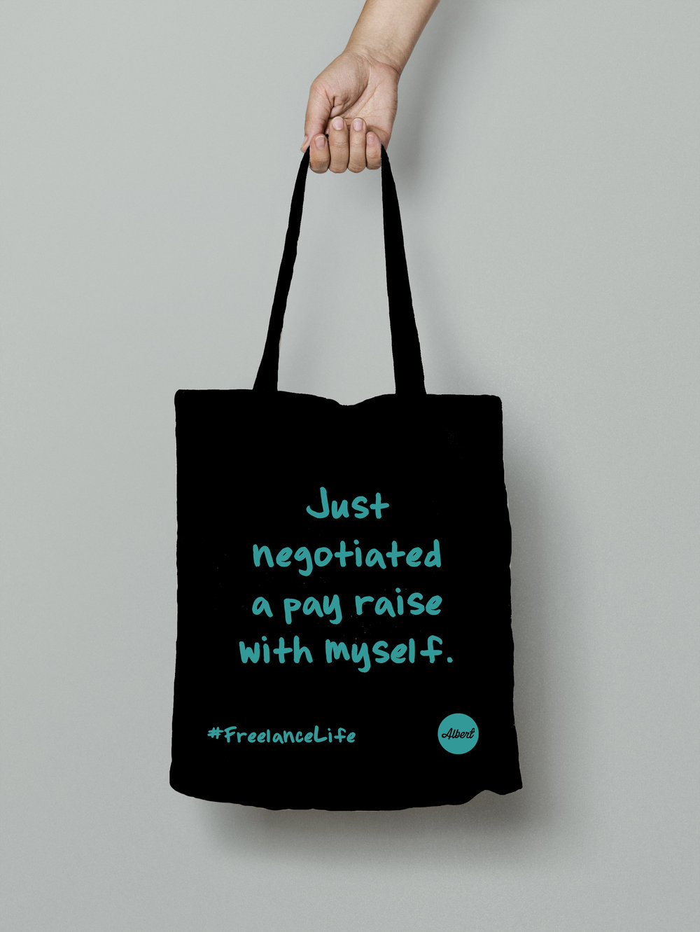£8.50 - 'Just Negotiated...' - Black (Turquoise)