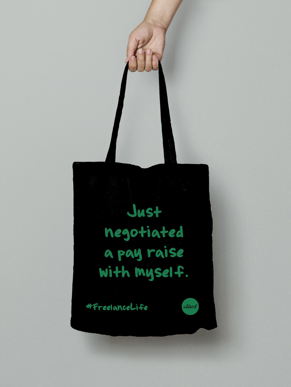 £8.50 - 'Just Negotiated...' - Black (Green)