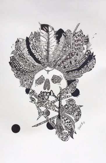 Gallery - Ulrik Mikkelsen 42x29 The Indian King .jpg