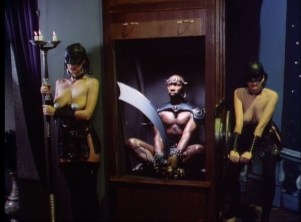 The executioner in the Ken Russell film, Salome's Last Dance