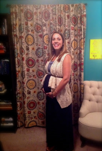 First day of school - baby girl at 28 weeks