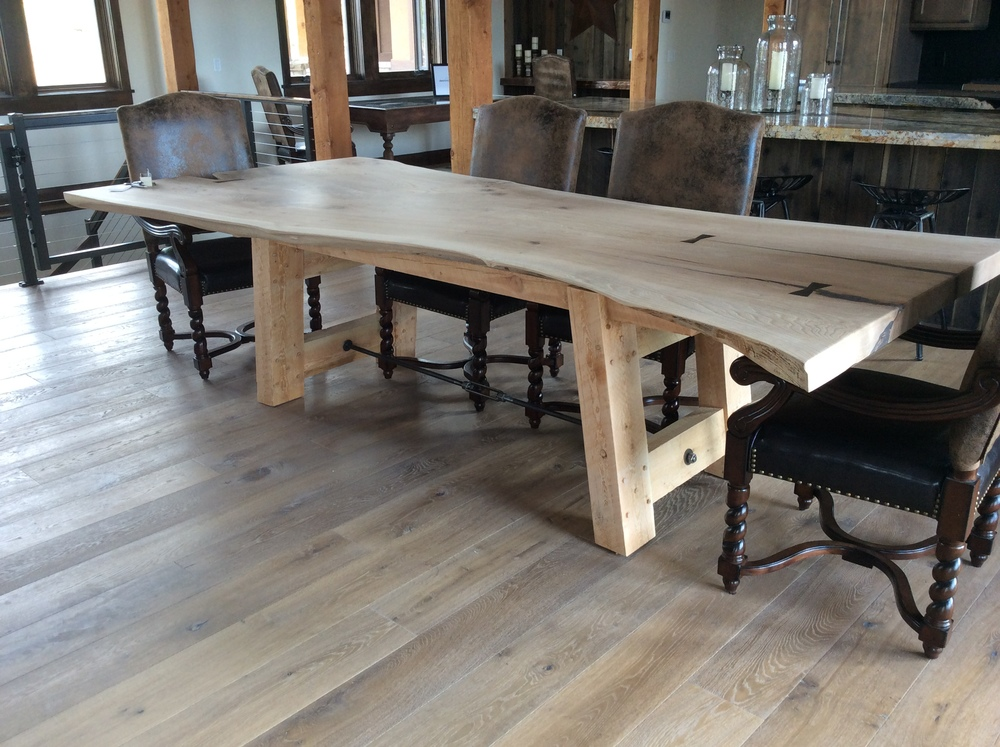 Foot Dining Room Table Stunning The 10 Foot Dining Room Table The  Deerbridge House Decorating Inspiration