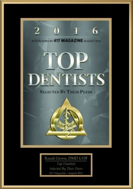 Top Dentist, Springfield, MO in 2016