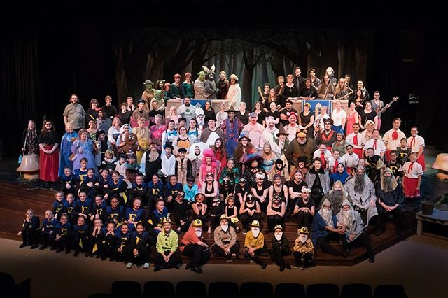 SO MUCH TALENT!!! We have been blessed with this large cast, crew, and pit! You only have 3 chances left to see these people! Tonight at 7, Saturday at 7, and Sunday at 2! Don't miss your chance! Thanks Andrew Hill for the AMAZING pictures!