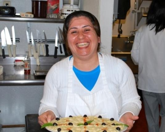 Evon Nano, kitchen manager and trainer