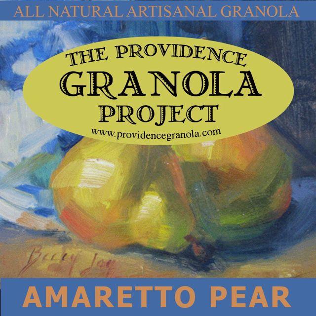 amaretto-pear-granola