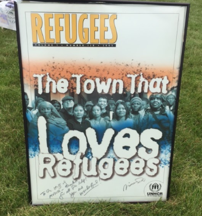 Utica recognizes the strength and determination of refugees.