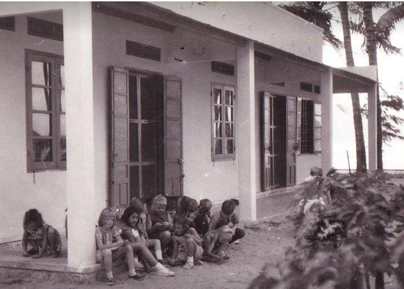 My boarding school on the beach