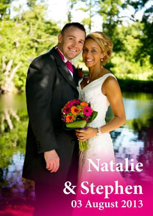 Natalie & Stephen August 2013