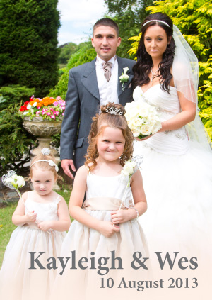 Kayleigh & Wes - 10 August 2013