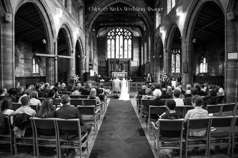 Nick & Chloe's Wedding Alsager Ceremony