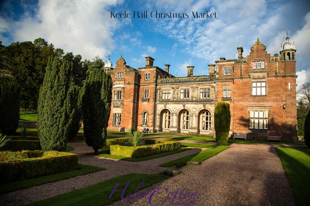 Keele Hall Christmas Market 2014