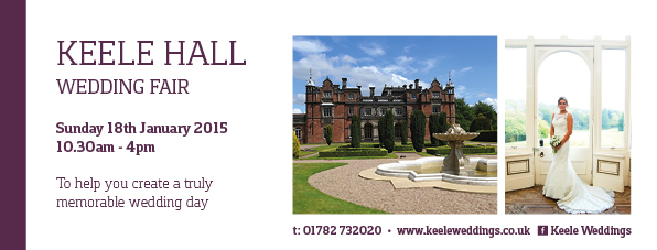 Keele Hall Wedding Fayre