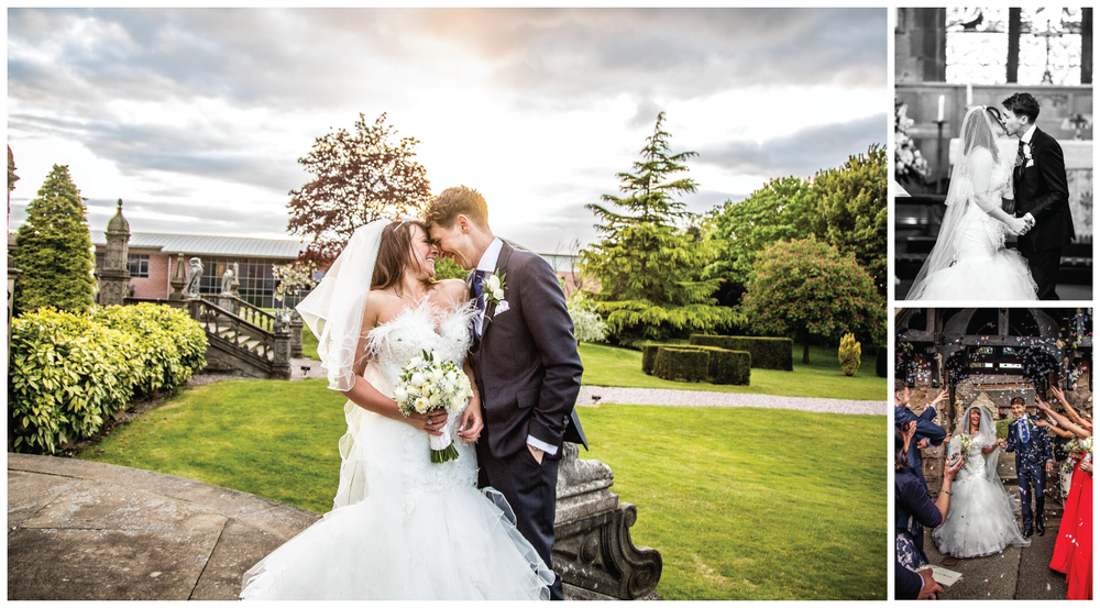 Crewe Hall Wedding Photography by Helen Cotton Photography