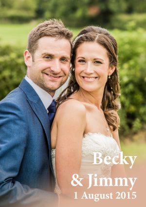 Becky & Jimmy's Wedding