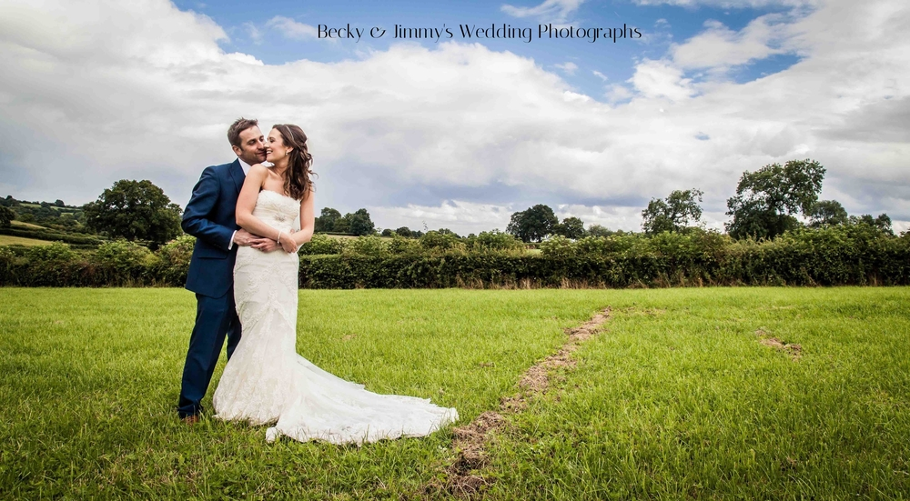 Becky & Jimmy's Wedding Photographs