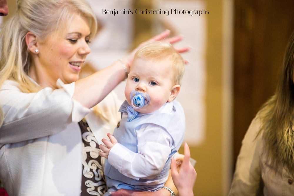 Benjamin's Christening Photographs