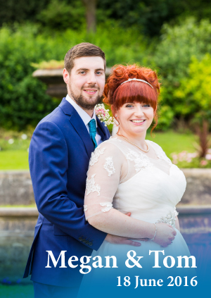 Megan & Tom's Wedding Photographs