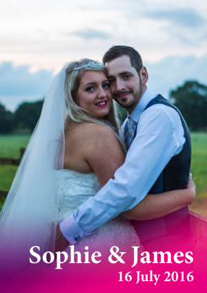 Sophie & James's Wedding Photographs