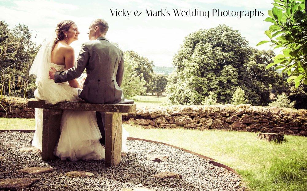 Vicky & Mark's Wedding Photographs