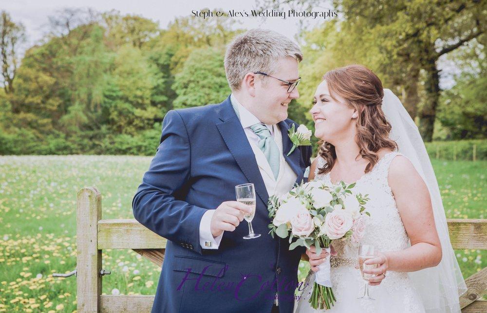 Steph & Alex's Wedding Photographs