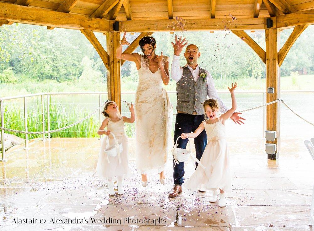 Al & Alex's Wedding Moddershall Oaks