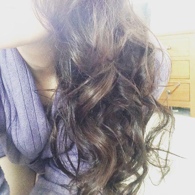 Crazy curls using my mums 70s retro curlers 😂#curls #carmencapital #70sfashion #helpfrommy3yearold