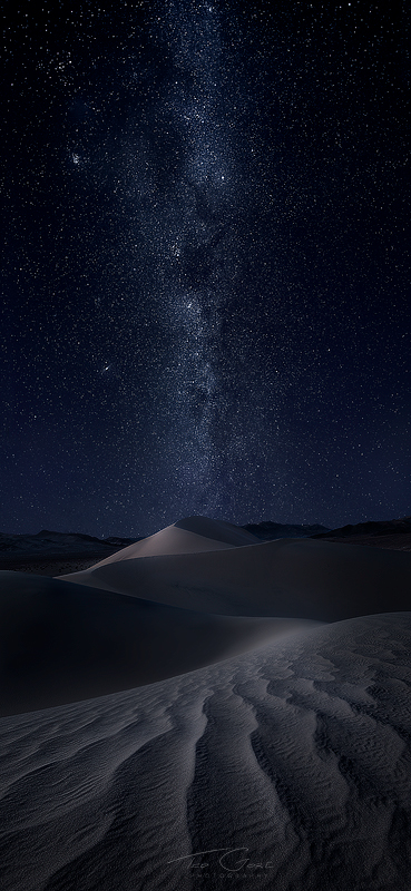 Milky Way above the Ibex Dunes