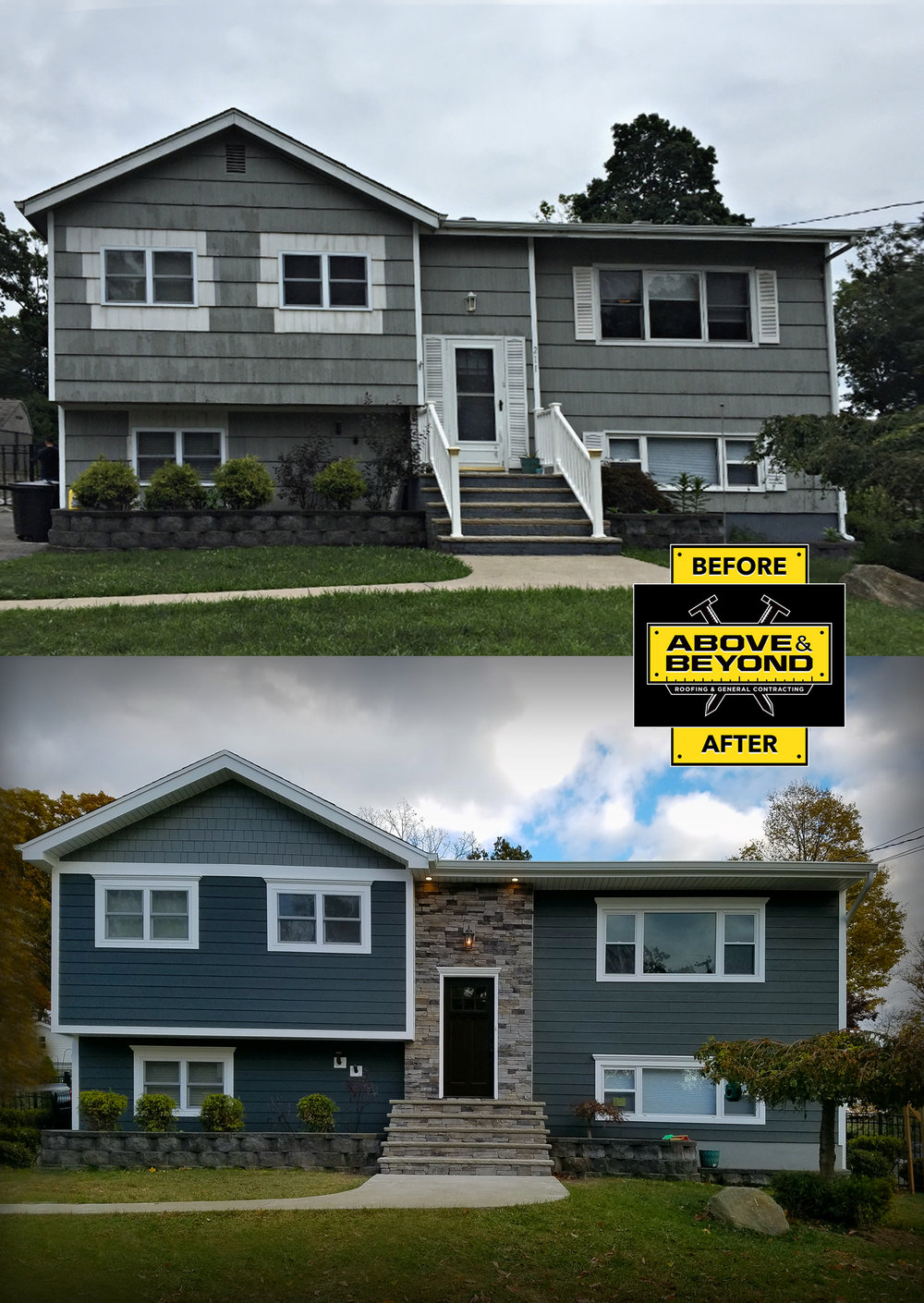 James Hardie Siding After Photos Nj Above Amp Beyond