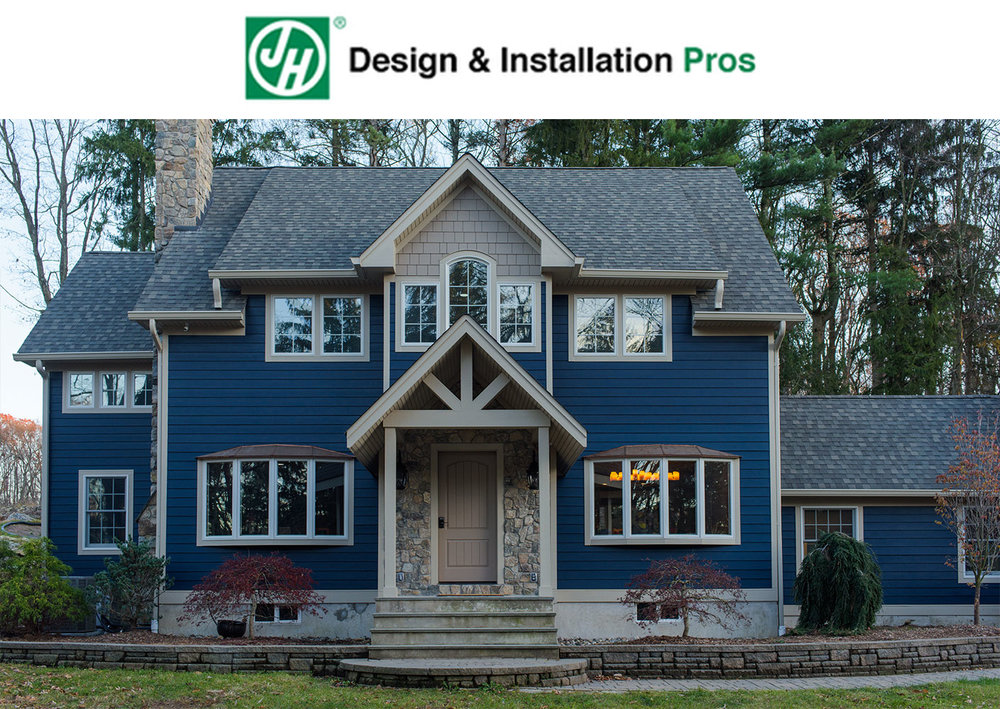 James Hardie Custom Siding and Color