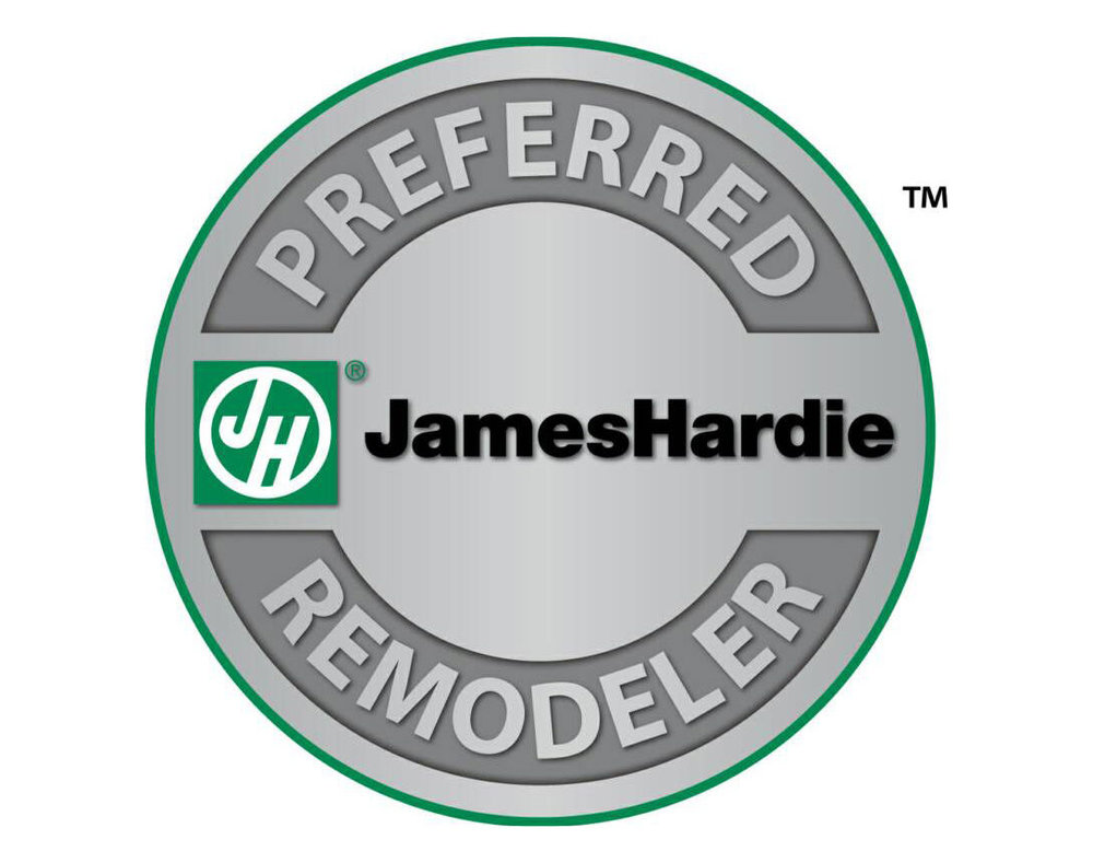 Above & Beyond is a proud Preferred James Hardie Remodeler. - This means we have trained with the manufacture, adhere to installation best practice and have our work sites regularly inspected for quality installs.