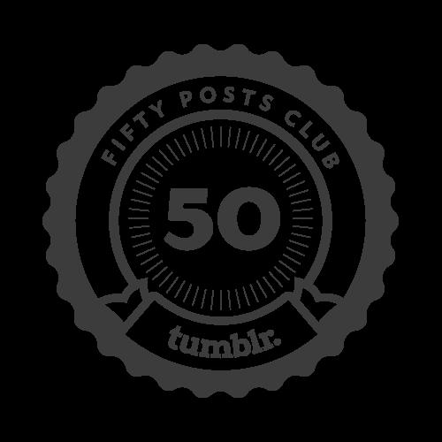 50 posts! Woohoooo!