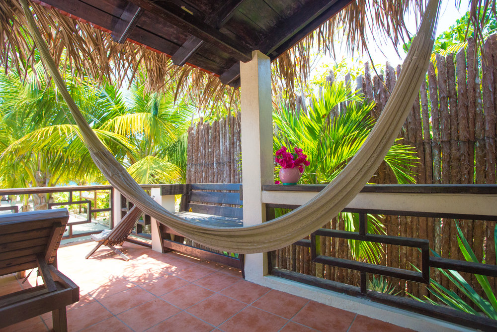 No better place to enjoy a hammock...