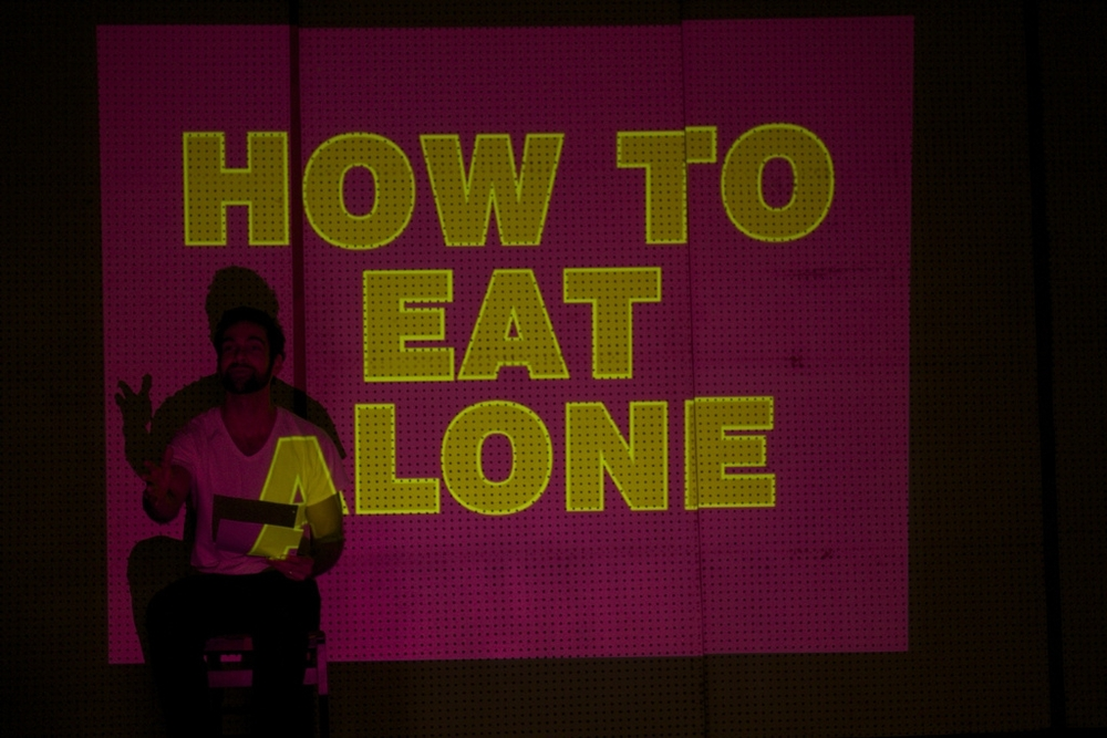 HOW TO BE ALONE! (workshop), 2015 // photo Rachel Kauder Nalebuff