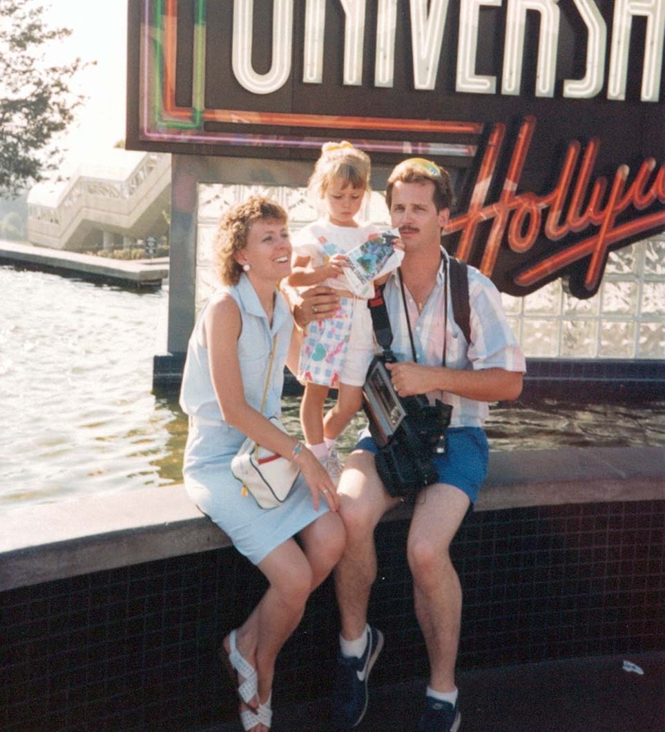 My parents and i, circa 1990.