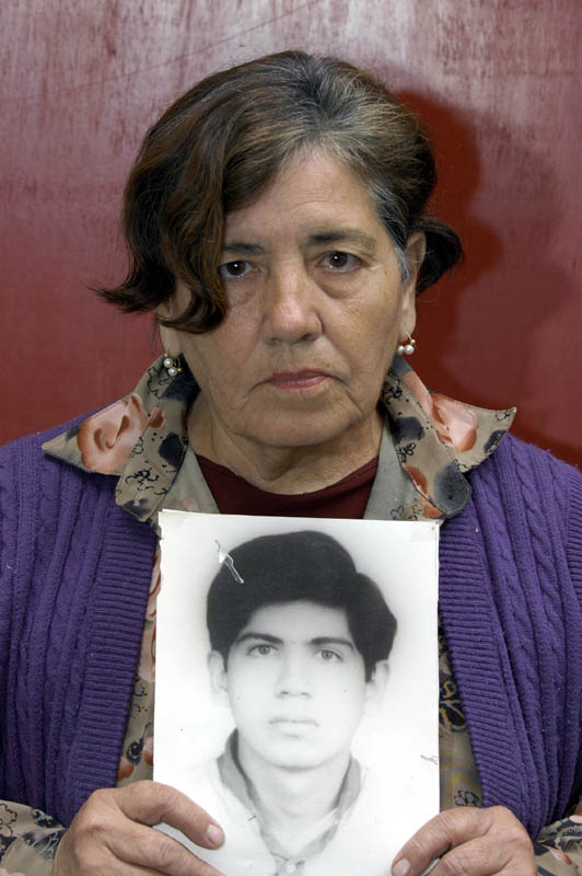 One of the victims in the Castro Castro prison case
