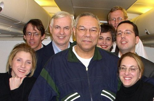 Covering Colin Powell 2003