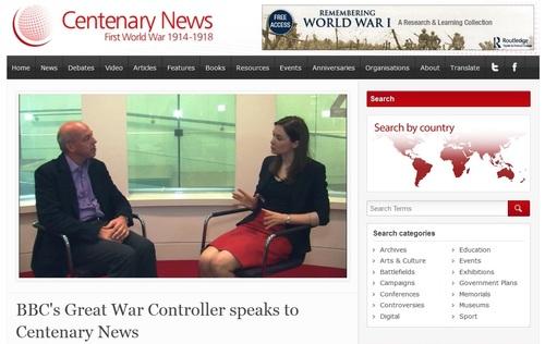 Centenary news, 2014
