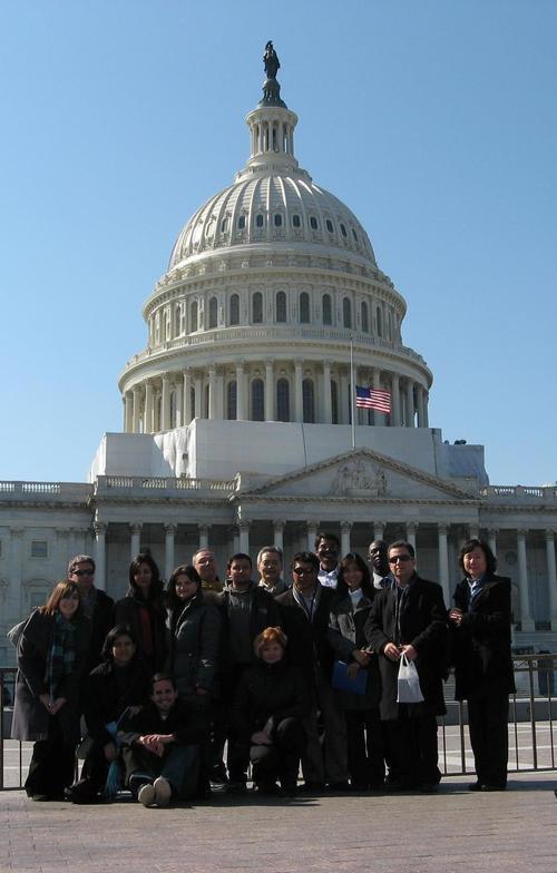 Fulbright, Washington DC, 2012