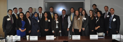 Millennium Fellowship meeting, General Cartwright, April 2015