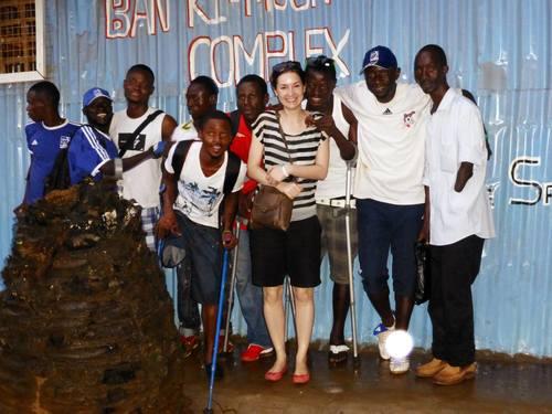 Sierra Leone 2013, Single Leg Amputee football team